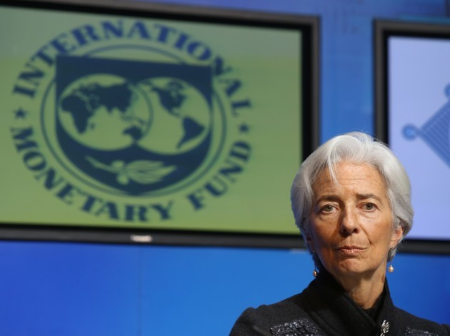 IMF Managing Director, Christine Lagard