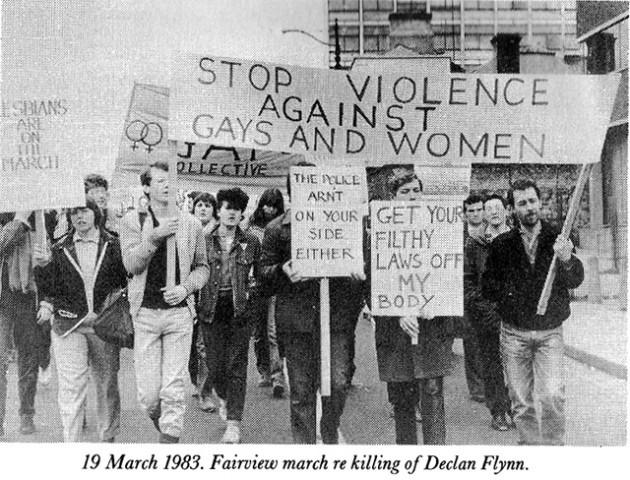 Homosexuality decriminalised in ireland