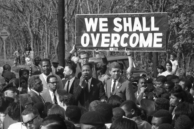 Dr. Martin Luther King Speaking Banner