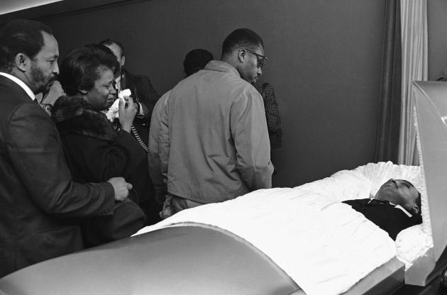Dr. Martin Luther King Jr Death Casket
