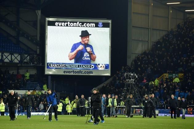 Soccer - Barclays Premier League - Everton v West Bromwich Albion - Goodison Park