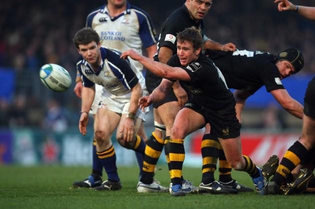 Eoin Reddan passes the ball 31/3/2007