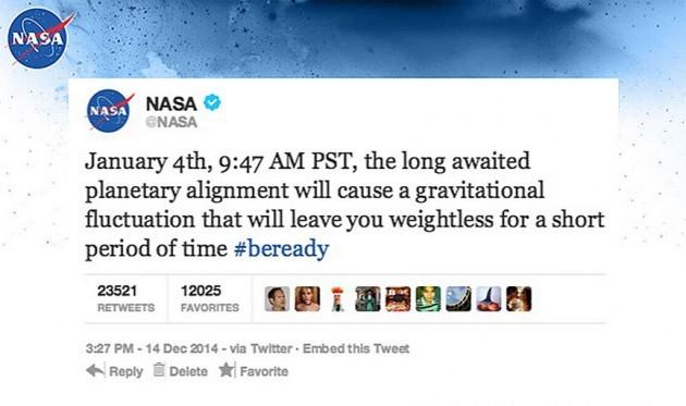 ZeroG-NASA-fake-tweet