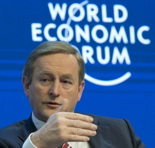 Enda Kenny Davos
