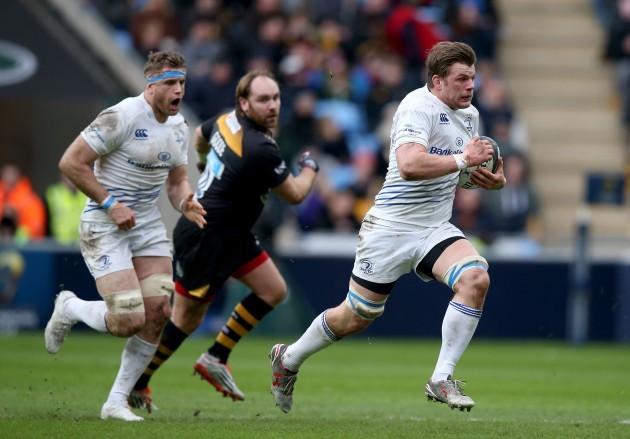 Jordi Murphy makes a break