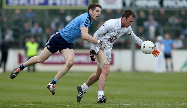 Emmett O'Conghaille with Eamon Murphy