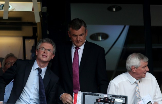 Joe Brolly, Colm O'Rourke and Michael Lester