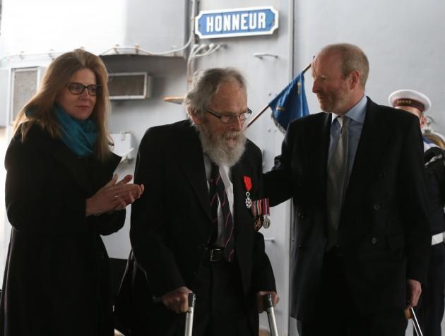 Veteran gets French honour