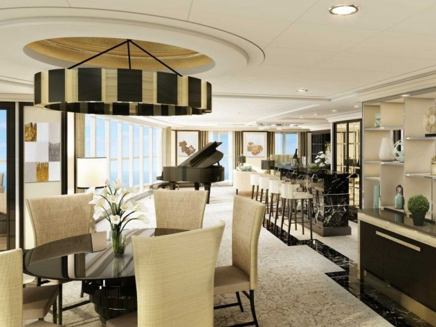 the-suites-living-room-is-spacious-enough-for-both-a-bar-area-and-a-steinway-grand-piano-off-the-living-room-is-an-outdoor-glass-enclosed-sitting-area-featuring-a-270-degree-view-of-the-ships-bow-and-beyond