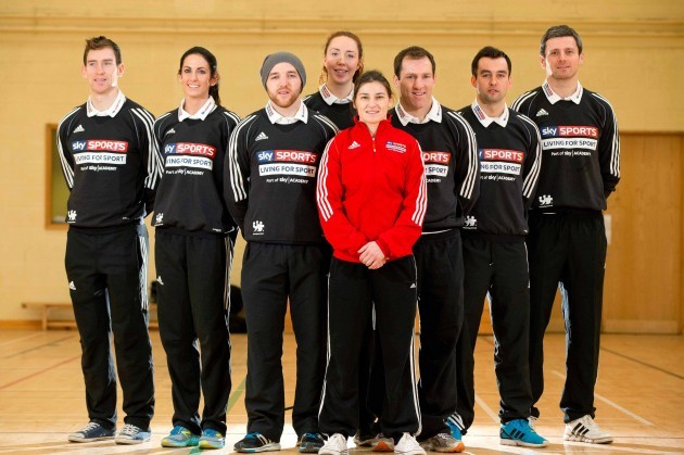 Joey Boland, Jessie Barr, Darran O'Sullivan, Aoife McDermot, Katie Taylor, Shaun Berne, Karl Lacey and Christy Toye