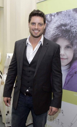 25.2.2009 To Russia with Love. Pictured is Keith Duffy at Irish charity, To Russia with Love's fantastic gala evening in the National Concert Hall with Gay Byrne in aid of abandoned and orphaned Russian children. All performers gave their ser