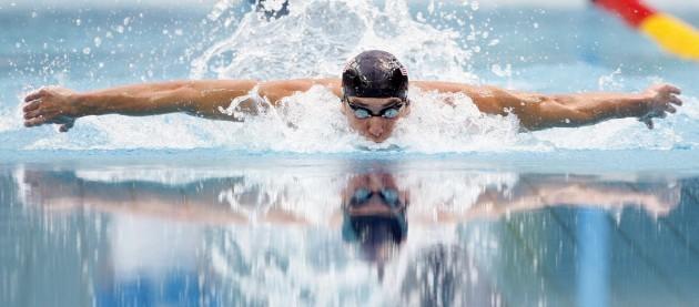 APTOPIX Beijing Olympics Swimming Mens Medleys