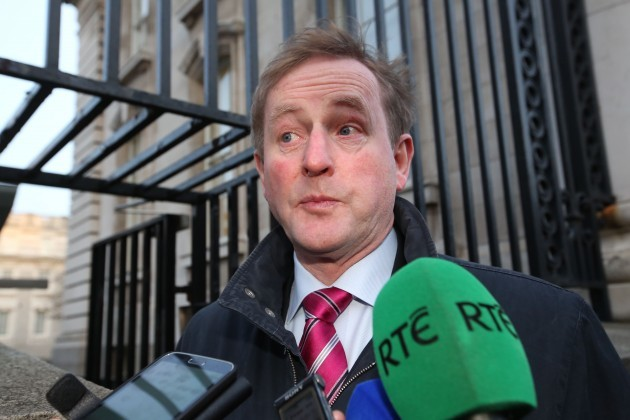 Cabinet Meeting. Pictured An Taoiseach