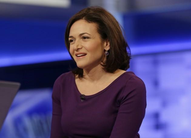 CORRECTION Facebook Sheryl Sandberg