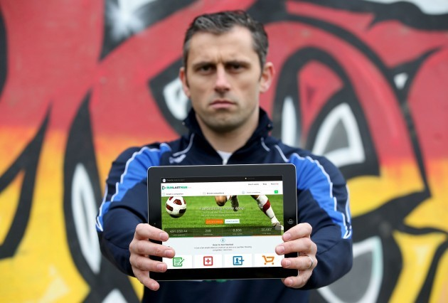Alan Brogan (image2) pictured at the launch of RunLastMan.com