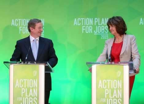 Action Plan For Jobs - ICON. Pictured