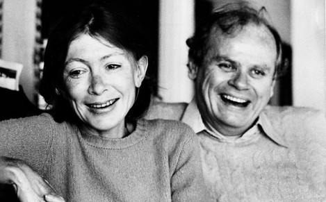 Joan Didion and John Dunne