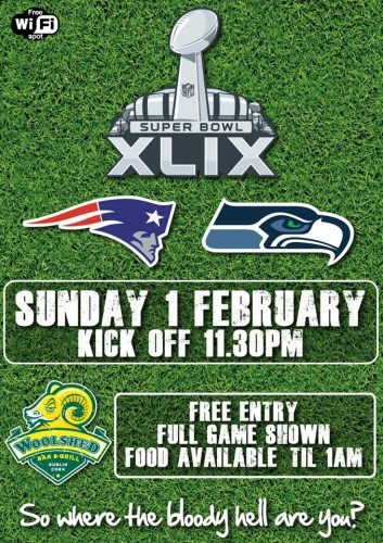 Woolshed Super Bowl