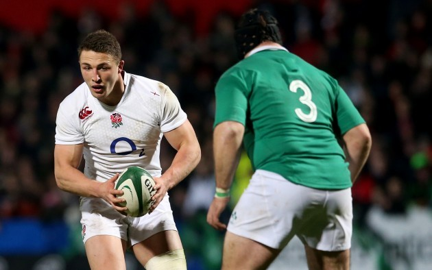 Sam Burgess and Mike Ross