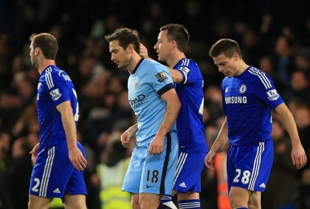 Soccer - Barclays Premier League - Chelsea v Manchester City - Stamford Bridge