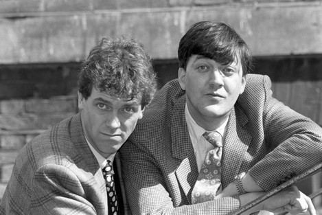 Entertainment - Comedians - Hugh Laurie and Stephen Fry