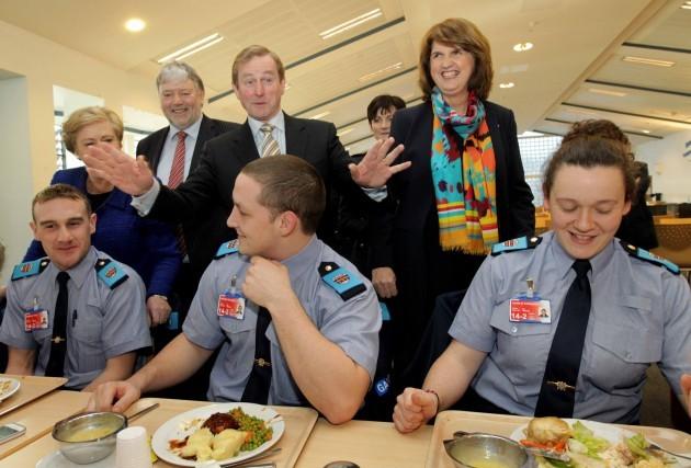 Taoiseach, Enda Kenny TD, Tanaiste and Mi