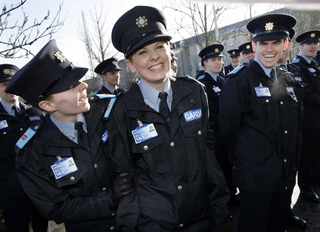 Pictured is new Garda recruits Fionnuala