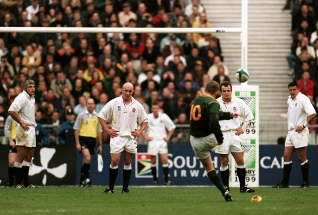 Rugby Union - Rugby World Cup 99 - Quarter Final - South Africa v England