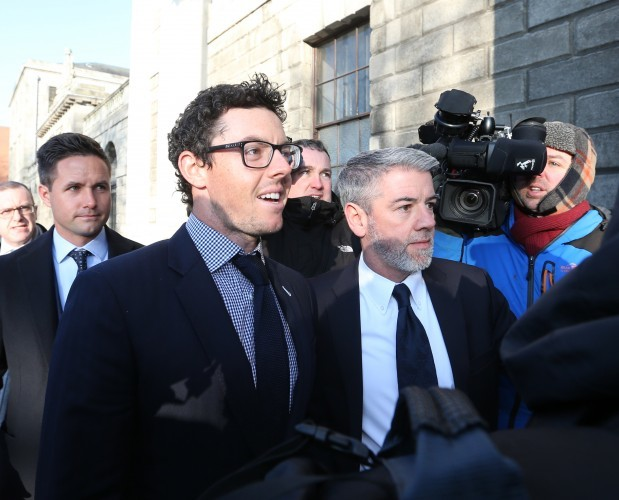 Rory Mcllroy at Court