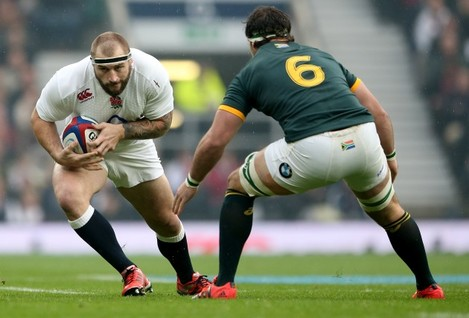 Joe Marler and Marcell Coetzee