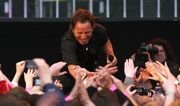 Bruce Springsteen in concert - Dublin