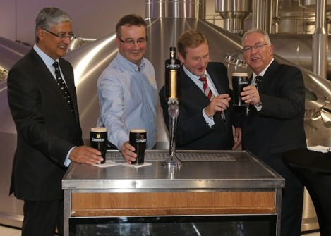 Guinness owner's new brewery opened