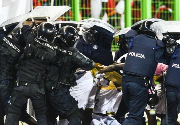 Football - 2015 Africa Cup of Nations Finals - Semifinal - Ghana v Equatorial Guinea - Malabo Stadium