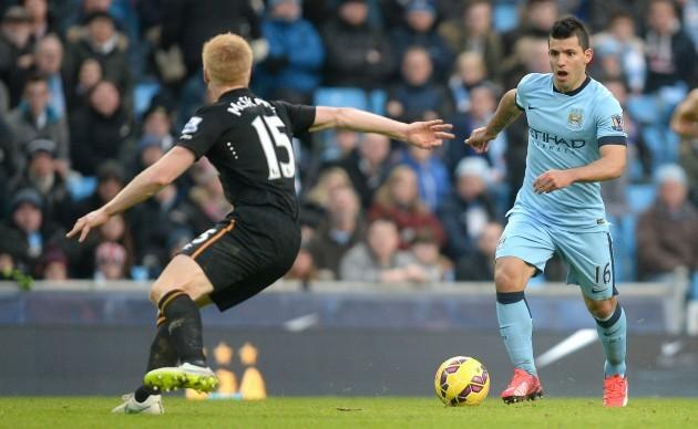 Soccer - Barclays Premier League - Manchester City v Hull City - Etihad Stadium