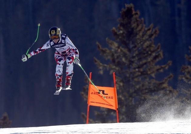 Worlds Womens Alpine Combined Skiing