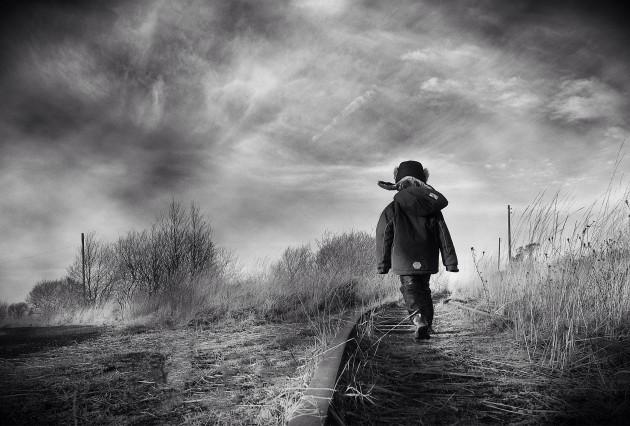 A Walk Along The Tracks At Lough Boora Parklands (1)