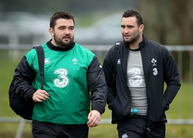 Marty Moore and Dave Kearney
