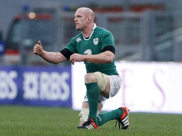 Paul O'Connell late in the game