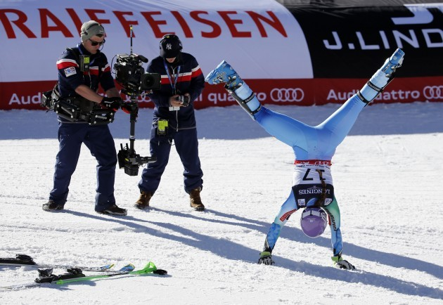 Worlds Womens Alpine Combined Skiing
