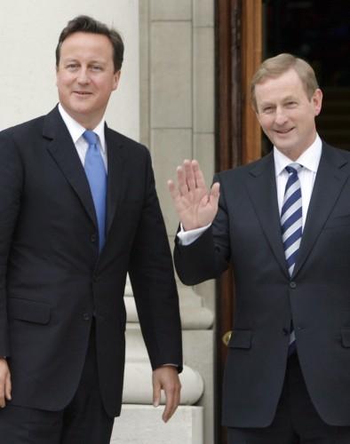 David Cameron Visits Ireland