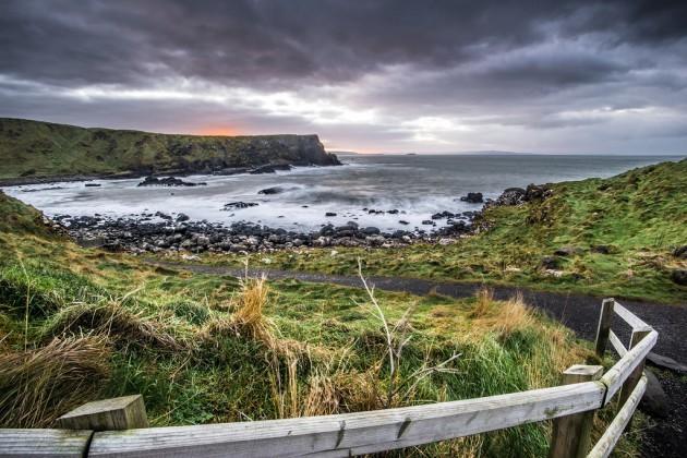 The Giant's Causeway, Co. Antrim, Northern Ireland