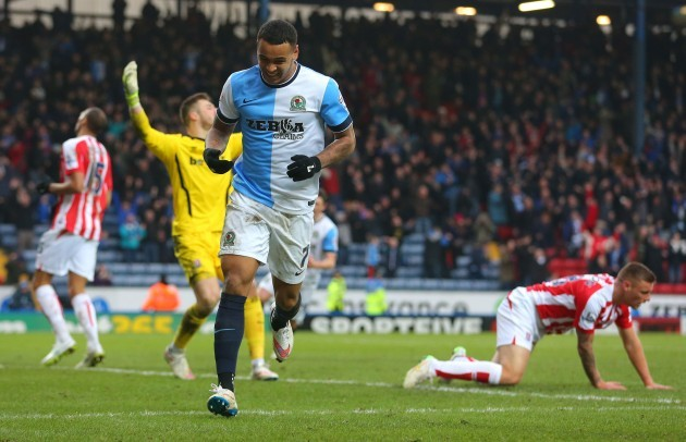 Soccer - FA Cup Fifth Round - Blackburn Rovers v Stoke City - Ewood Park