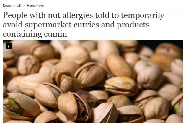 a8aa2d71b Now Tesco has recalled one of its products because of nut worries