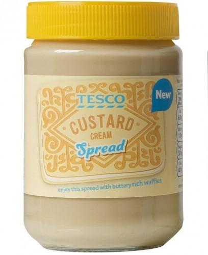 Tesco Custard Cream Spread