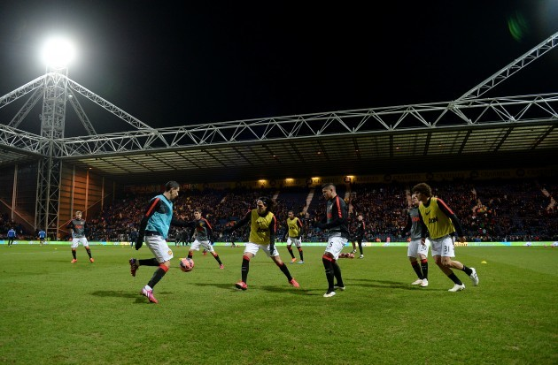 Soccer - FA Cup - Fifth Round - Preston North End v Manchester United - Deepdale