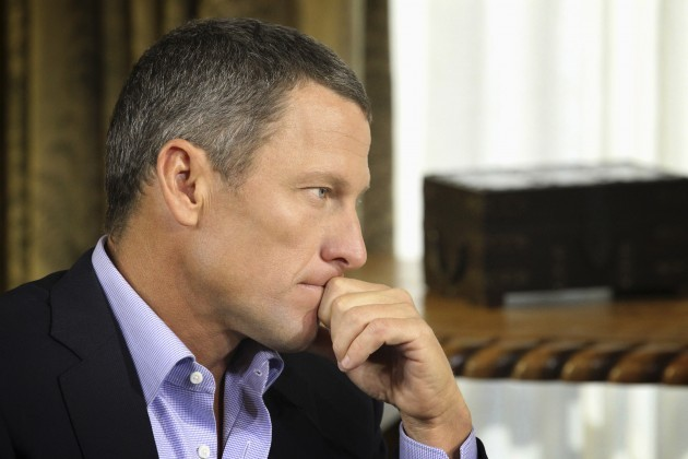 Lance Armstrong Interviewed by Oprah Winfrey