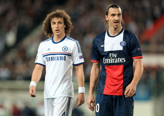 Soccer - UEFA Champions League - Quarter Final - First Leg - Paris Saint-Germain v Chelsea - Parc des Princes