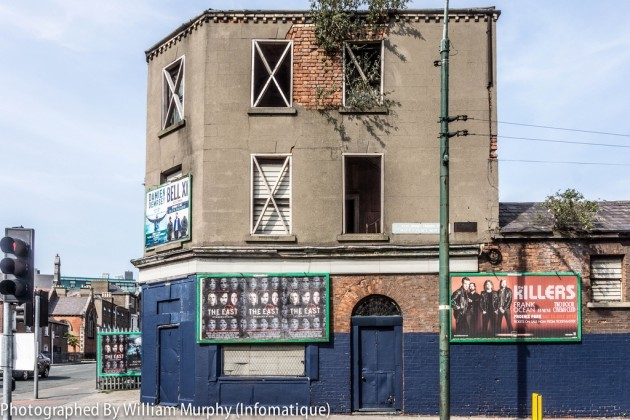 Urban Decay On The Streets Of Dublin - Derelict Building At St. Mary's Place North {Across From The Black Church}