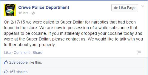 crewe police department  - facebook 1