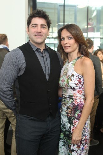 Brian Kennedy and Sharon C